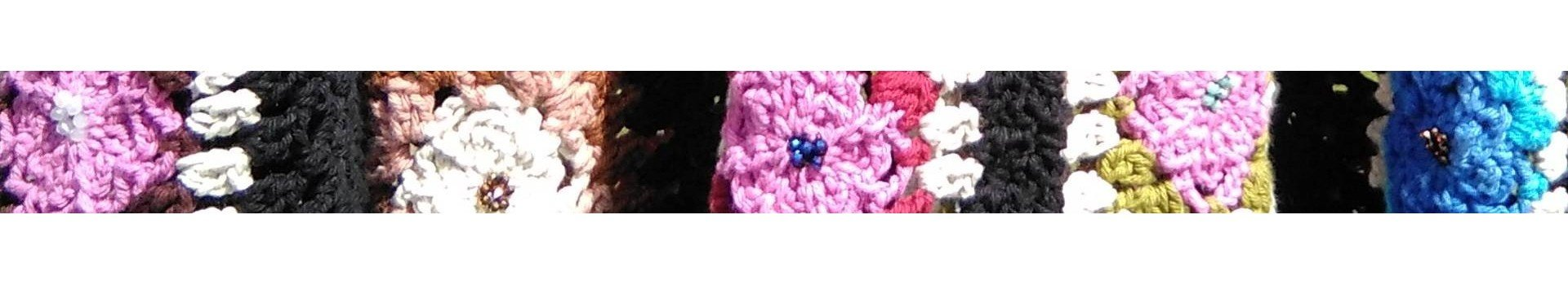 chaquetas punto ganchillo flecos lana acrílico